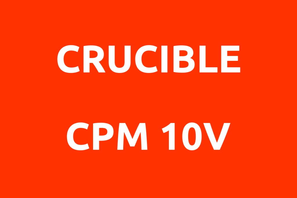 Crucible-CPM-10V-Datenblatt-Titelbild